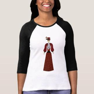Day of the Dead Female Doll Skeleton T Shirt