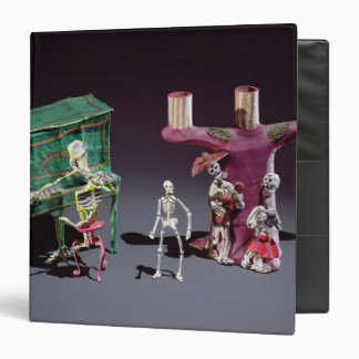 Day of the Dead figures as musicians Binder