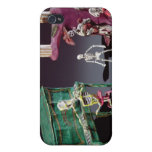 Day of the Dead figures as musicians iPhone 4/4S Covers