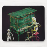 Day of the Dead figures as musicians Mouse Pad