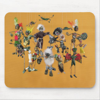 Day of the Dead figures, from Oaxaca Mouse Pad