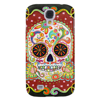 Day of the Dead Galaxy S4 Case