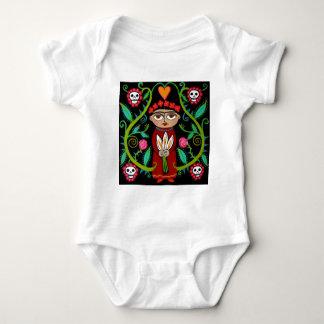 Day of the Dead Garden Baby Bodysuit