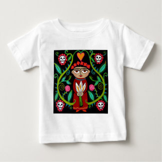 Day of the Dead Garden Baby T-Shirt