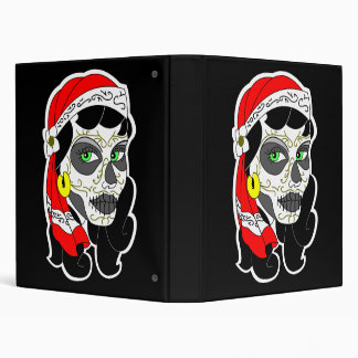 Day of the Dead Girl 3 Ring Binder