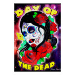 Day Of The Dead Girl Posters