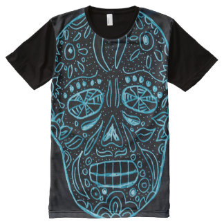 Day of the Dead Glow In The Dark All-Over-Print T-Shirt