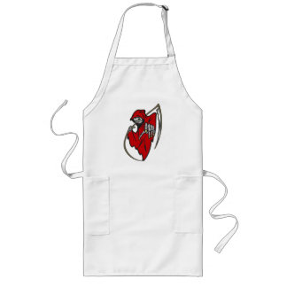 Day of the Dead Grim Reaper Long Apron