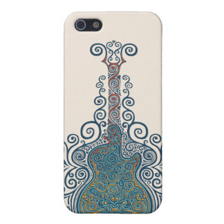 Day of the Dead Guitar Case For iPhone SE/5/5s