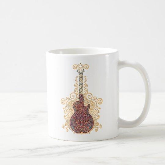 Day of the Dead Guitar Coffee Mug
