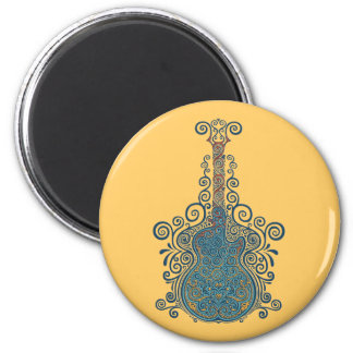Day of the Dead Guitar Magnet