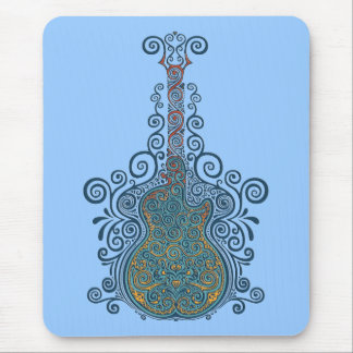 Day of the Dead Guitar Mouse Pad