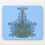 Day of the Dead Guitar Mousepad