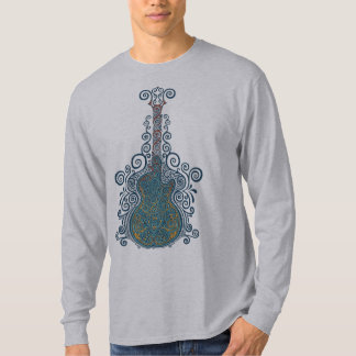 Day of the Dead Guitar T-Shirt