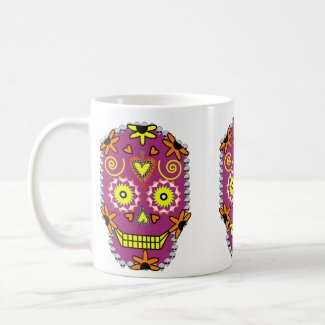 Day of the Dead Halloween Coffee Mug