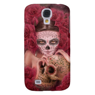 Day of the Dead HTC Vivid Case Samsung Galaxy S4 Cases