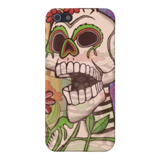 Day Of The Dead Hysteria iPhone SE/5/5s Case