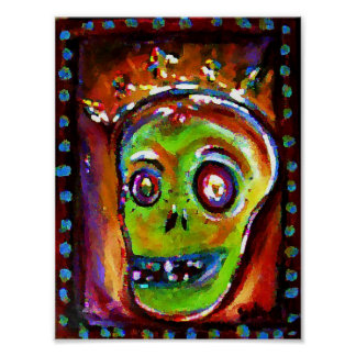 Day of the Dead in Red Posters