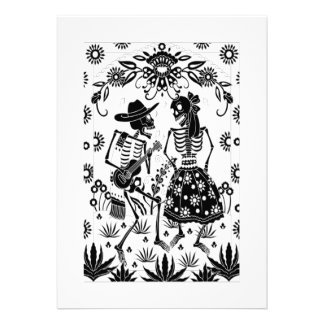 Day Of The Dead Personalized Announcement