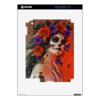 Day of the Dead iPad 2 Skin