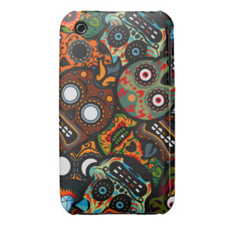 Day Of The Dead iPhone 3 Cover