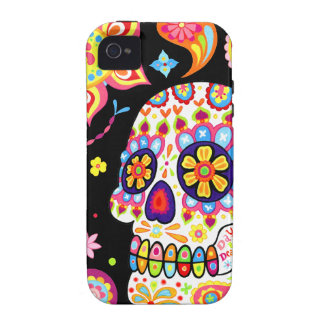 Day of the Dead iPhone 4/4S Case-mate Tough Case Case-Mate iPhone 4 Cover