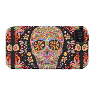 Day of the Dead iPhone 4/4S Case-Mate Tough Case iPhone 4/4S Covers