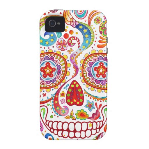 Day of the Dead iPhone 4/4S Case-mate Vibe Case iPhone 4/4S Covers