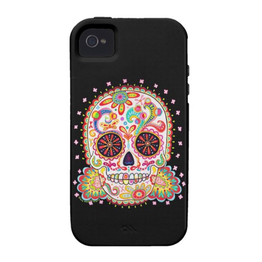 Day of the Dead iPhone 4/4S Case-Mate Vibe Case