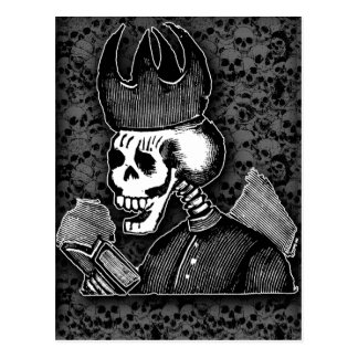 Day of the Dead Jose Guadalupe Posada Cards Postcard