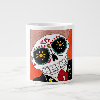 Day of the Dead Jumbo Coffee Mug