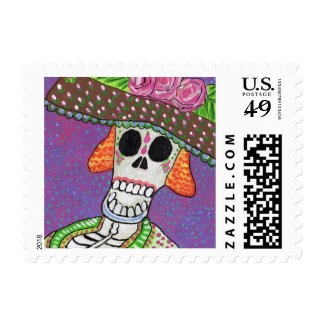 Day of the Dead Katrina Stamps
