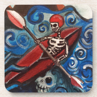 Day of the Dead Kayaker Coaster