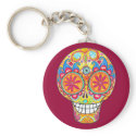Day of the Dead keychain keychain