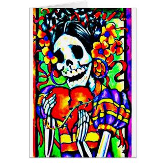 Day of the Dead La Calavera Catrina Card