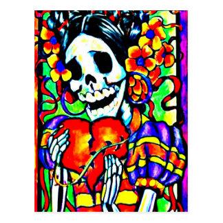 Day of the Dead La Calavera Catrina Postcard