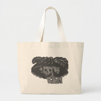 Day Of The Dead Large Tote Bag