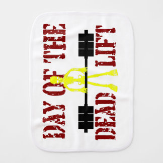 Day Of The Dead Lift Burp Cloth
