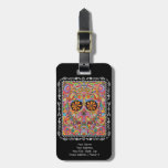 Day of the Dead Luggage Tag - Customize it!