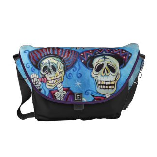 Day Of The Dead Mariachi Band Rickshaw Messen Messenger Bag