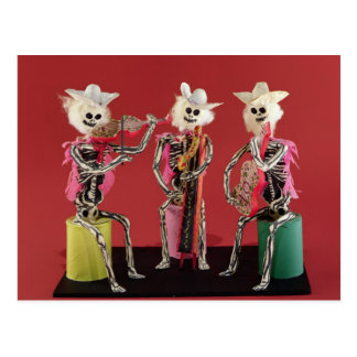 Day of the Dead: Mariachi, from Oaxaca Postcard