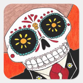 Day of the Dead Mariachi Sticker