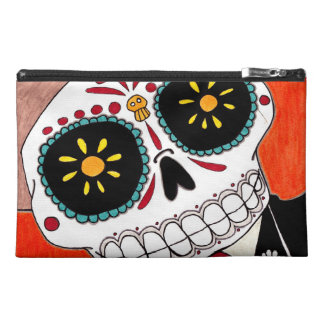 Day of the Dead Mariachi Travel Accessory Bag