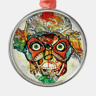 Day of the Dead Metal Ornament