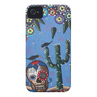 Day Of The Dead Mexican Art By Lori Everett Case-Mate iPhone 4 Cases