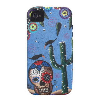 Day Of The Dead Mexican Art By Lori Everett iPhone 4/4S Cases