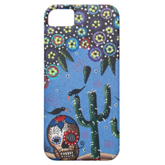 Day Of The Dead Mexican Art By Lori Everett iPhone 5 Covers
