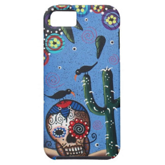 Day Of The Dead Mexican Art By Lori Everett iPhone 5 Cases
