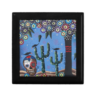 Day Of The Dead Mexican Art By Lori Everett Gift Box