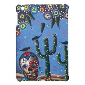 Day Of The Dead Mexican Art By Lori Everett iPad Mini Covers